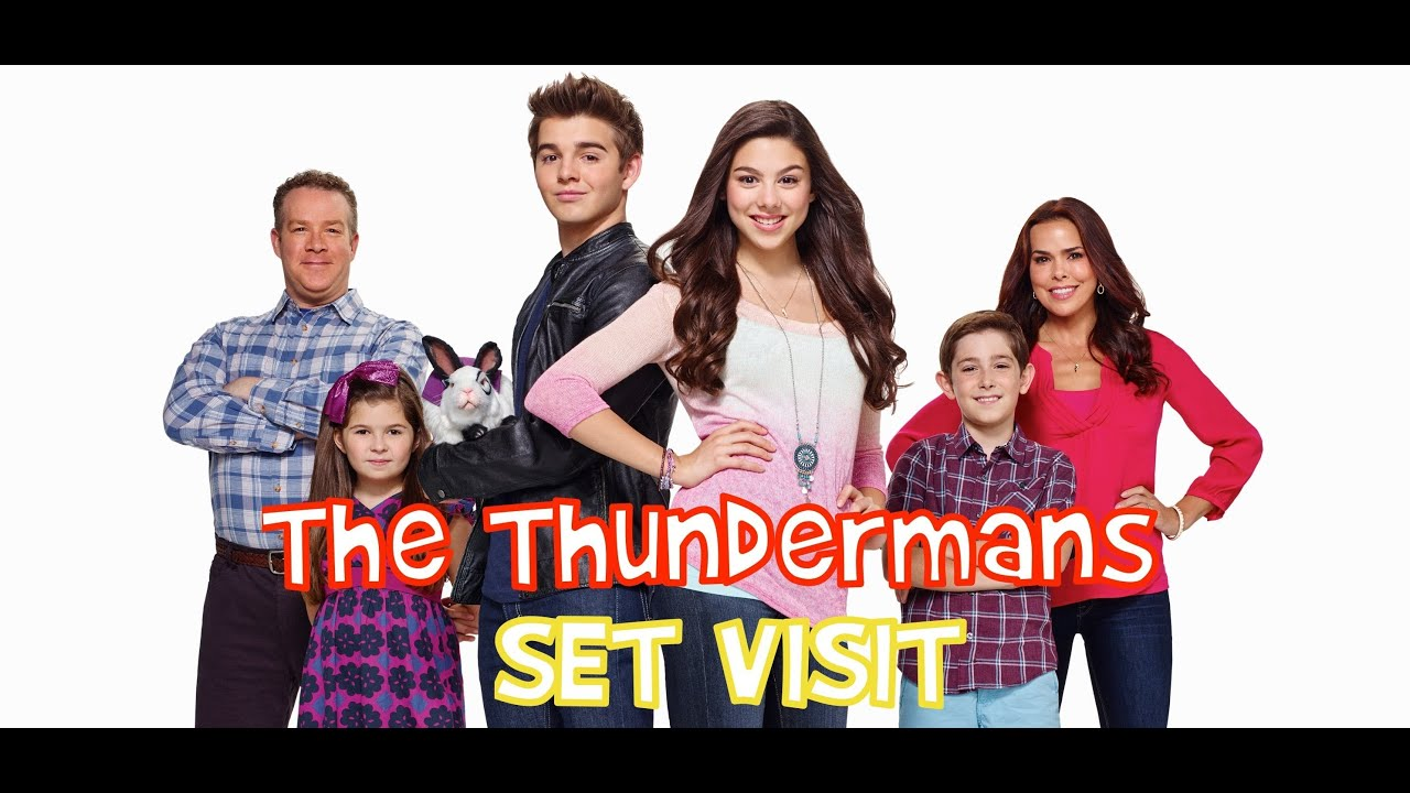 On set of nickelodeon s quot the thundermans quot youtube