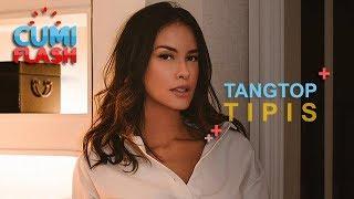 Pakai Tangtop Tipis, Tubuh Sophia Latjuba Menerawang - CumiFlash 15 November 2018
