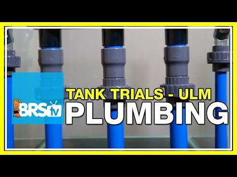 ULM Tank Trials Ep-5: Plumbing and Return Pumps for Ultra Low Maintenance | BRStv