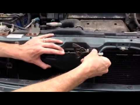 Honda Accord Hood Latch Front Grill Change Youtube