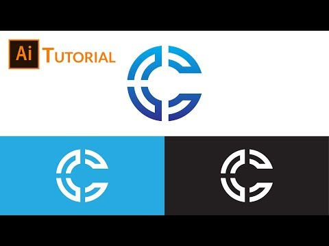 C Logo Design Tutorial Illustrator thumbnail
