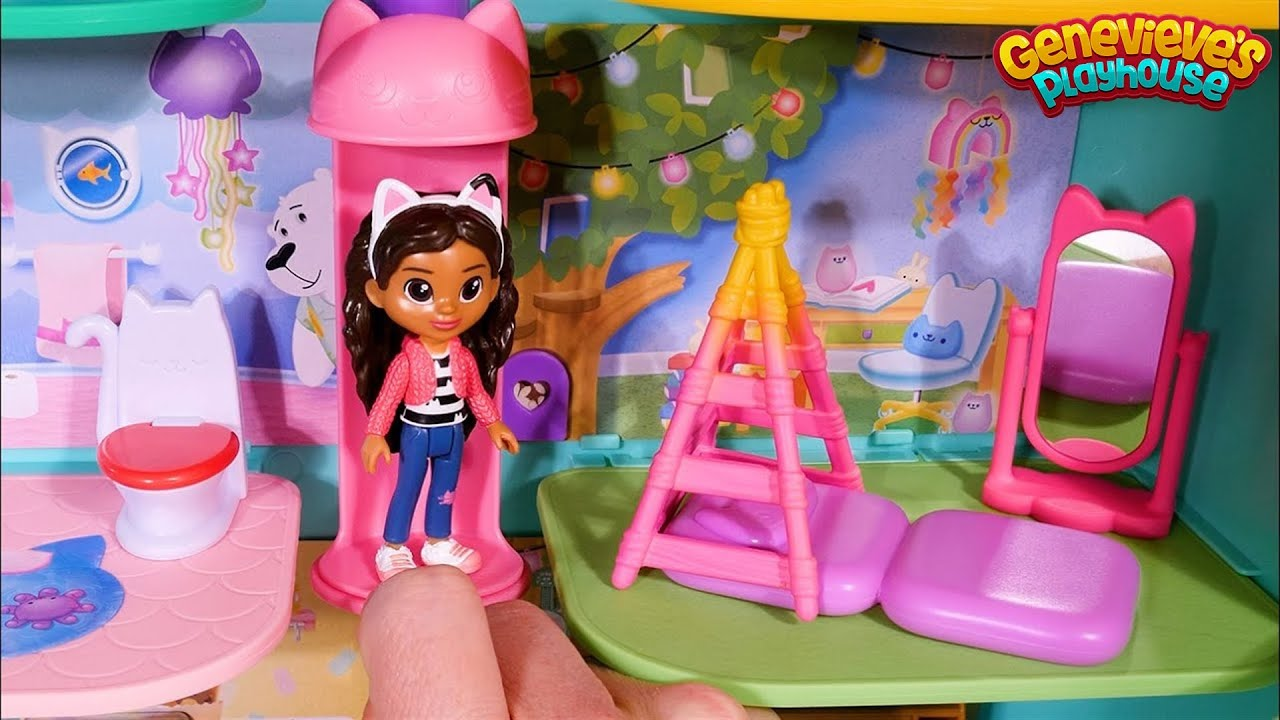 Gabby's Dollhouse Toy Learning Video for Kids!
