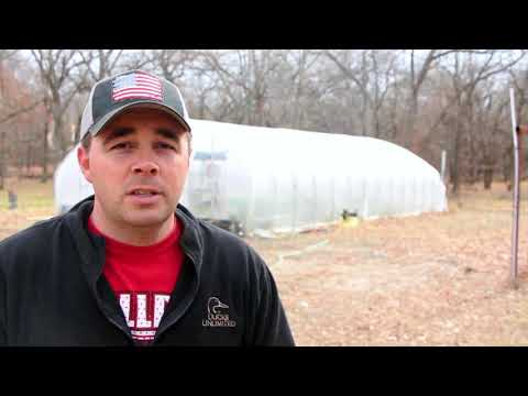 How to Build a High Tunnel Greenhouse for FREE