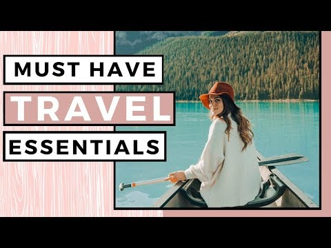 My Top 7 ESSENTIALS & Must-Haves For Travel ✈️