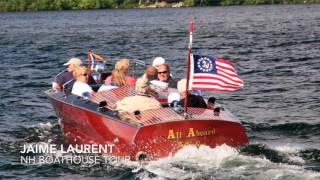 NH Boat Museum & Winnipesaukee Boat House Tour