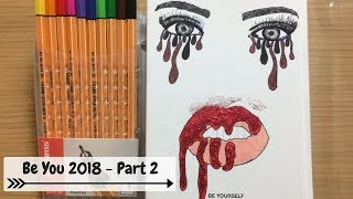 DIARIO BE-YOU 2018 TUTORIAL DIY TUMBLR, MAKEUP, KYLIE JENNER || danydreams