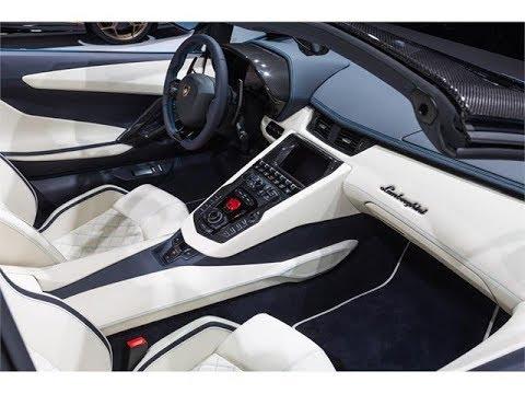 The New Lamborghini Aventador S Roadster Interior Design Youtube