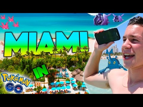 What is Pokemon GO Like in Miami, Florida? (Generation 2) *TOP DESTINATION*