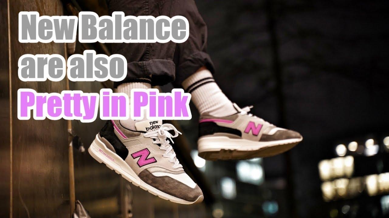 Pretty in Pink: New Balance M997LBK
