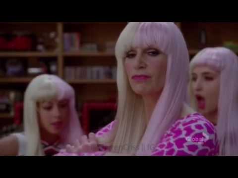 Glee - I still believe/Superbass by Blaine and Sue (official music video HD)