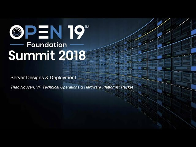 Server Designs & Deployment