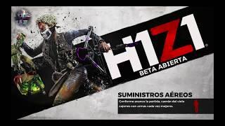 H1Z1 BATTLE ROYALE desde el BAR