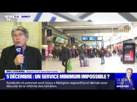Il n'y aurait pas une légère fébrilité dans l'air chez BFM vis-à-vis de la grève du 5 Décembre ? 🤔