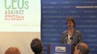 NAMI Massachusetts Press Conference re: CEOs Against Stigma Campaign