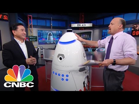 Knightscope CEO: Security Automation | Mad Money | CNBC
