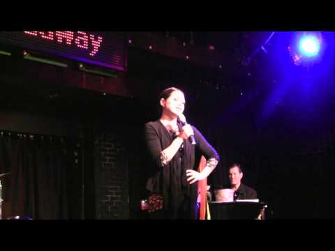 BIANCA MARROQUIN, STAR OF CHICAGO ON BROADWAY (ROXY) PERFORMES CABARET