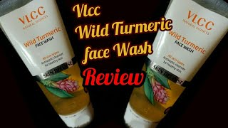 Vlcc Wild Turmeric Face wash Review|| For Soft ||Smooth||Glowing||Face||Turmeric Face wash