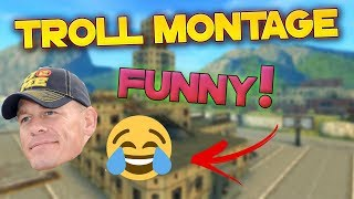 Tanki Online Troll Montage/Try Not To Laugh (Funny Video) танки Онлайн