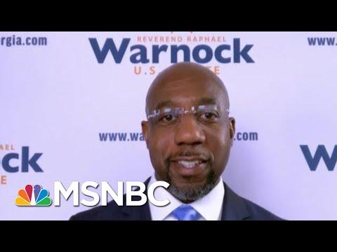 Sen.-Elect Warnock: I'm Very Proud Of The People Of Georgia   Morning Joe   MSNBC