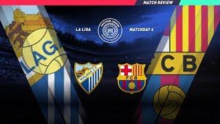 чемпионат Испании: 4 тур: Малага 0:1 Барселона ( Обзор матча)