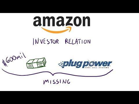 Plug Power and Amazon 600 million dollars deal