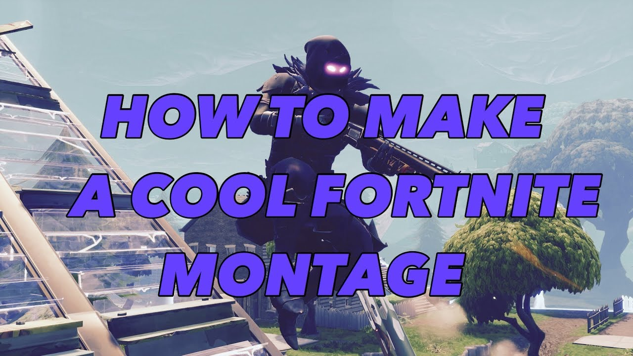 HOW TO MAKE A SICK FORTNITE MONTAGE ON THE PS4! - TUTORIAL
