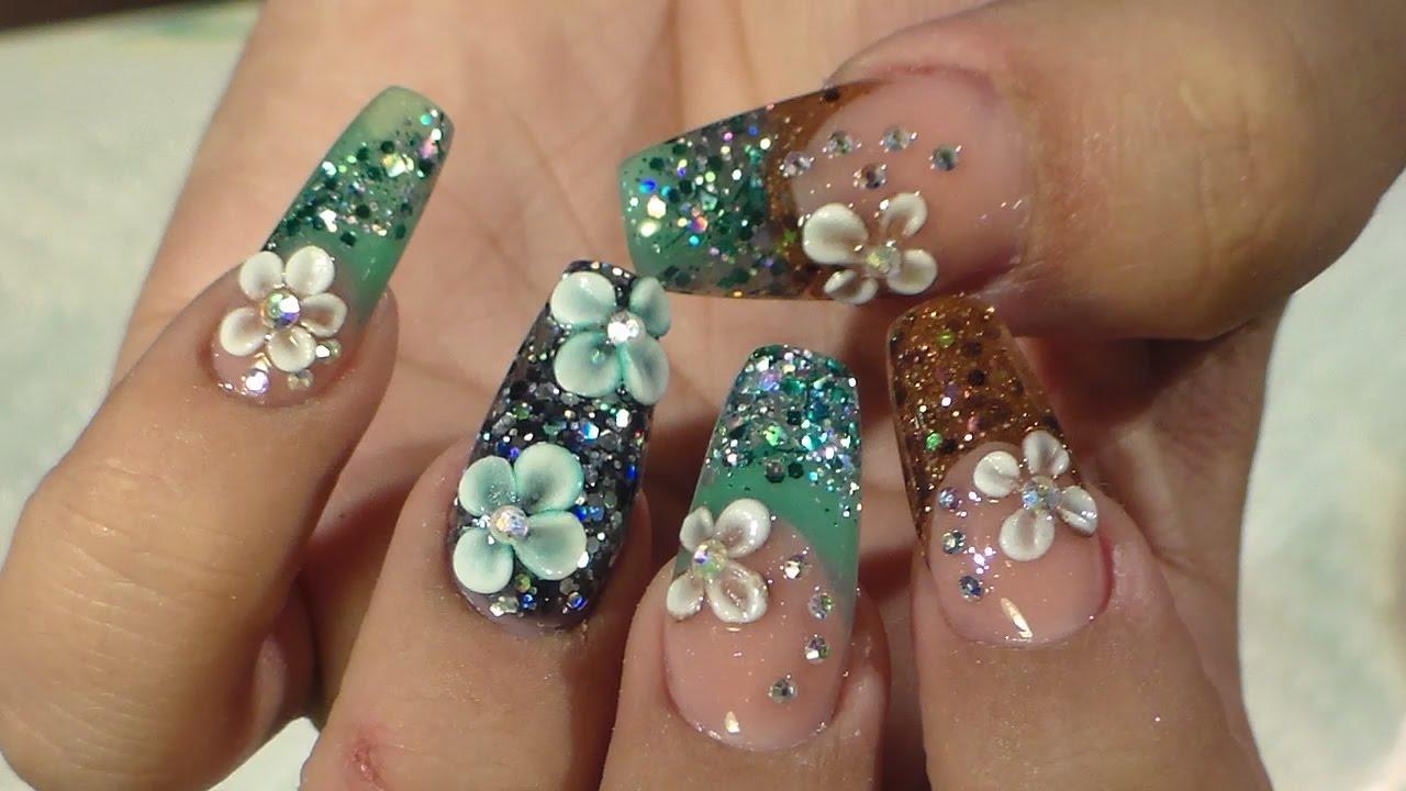 Diseño Otoño Invierno Natos Nails Uñas Acrilicas Acrylic Nails
