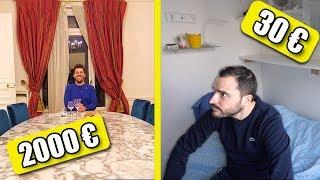 Airbnb à 2000€ la nuit VS Airbnb à 30€ la nuit