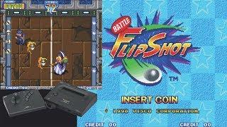 Chris Mike Playthrough Battle Flip Shot Neo Geo