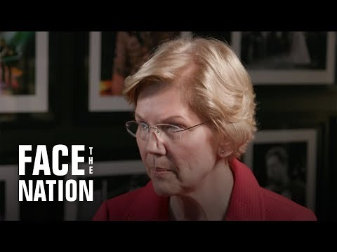 "Full interview of Sen. Elizabeth Warren on ""Face the Nation"""