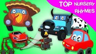 лучшие детские стишки | потешки и дети видео | Top Rhyme Collection | Little Red Car Russia