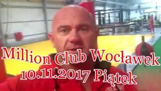 Pudzian Band - Zaproszenie na koncert - Million Club, Włocławek (10.11.2017)