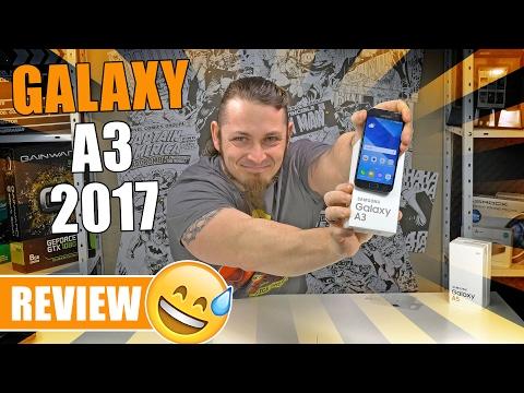 SAMSUNG GALAXY A3 (2017) 📱 Kompakter Bestseller? [Review, German, Deutsch]