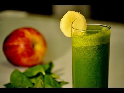 Healthy Spinach-Apple Juice    Jan's Special   Healthy Juice   Episode 199