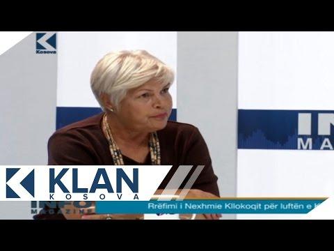 Info Magazine - Nexhmie Kllokoqi, xhirime ekskluzive nga viti 1999 - 16.06.2015 - Klan Kosova