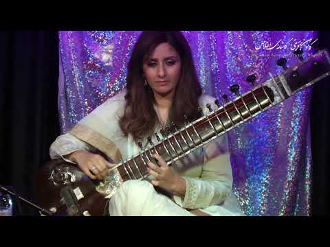 Roopa Panesar (Sitar) - Guest at The Music Room,  Raag Rageshree (Part One)