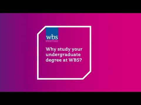 Why study your undergraduate degree at WBS?