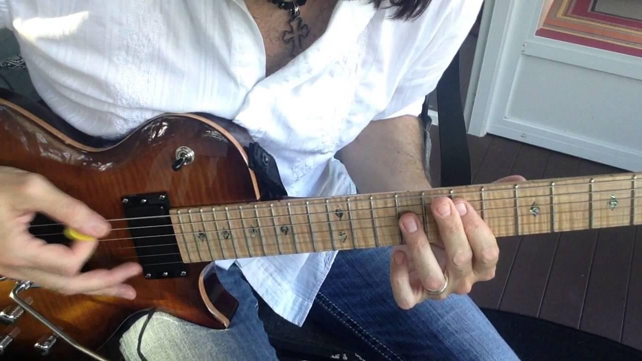 Michael Sweet/Stryper — 'Fallen' Guitar Tutorial