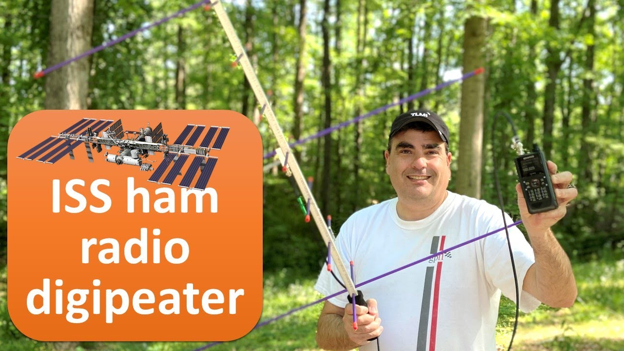 Download APRS packet ham radio using ISS as digipeater