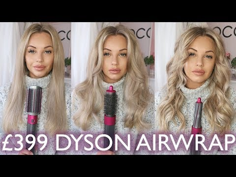 DYSON AIRWRAP 3 WAYS | CURL LASTING TEST & Q&A | Lucy Jessica Carter