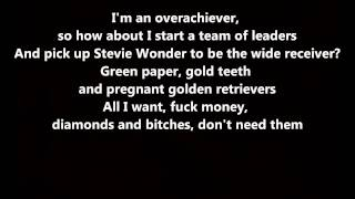 Yonkers - Tyler, The Creator // Lyrics On Screen [HD]