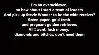 Yonkers - Tyler, The Creator // Lyrics On Screen [HD]