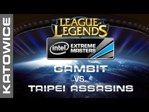 Gambit Gaming vs. Taipei Assassins - Group B - IEM Katowice 2014 - League of Legends