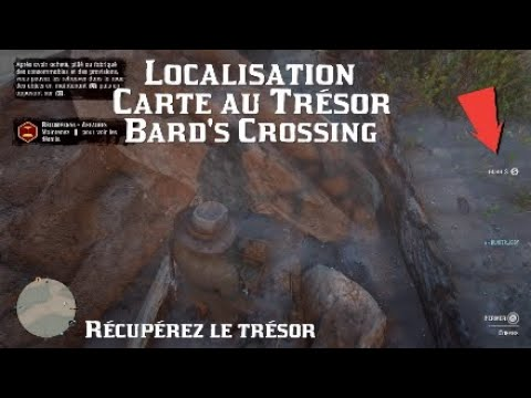 Carte Au Tresor Vide.Red Dead Online 2 Carte Au Tresor Bard S Crossing Localisation