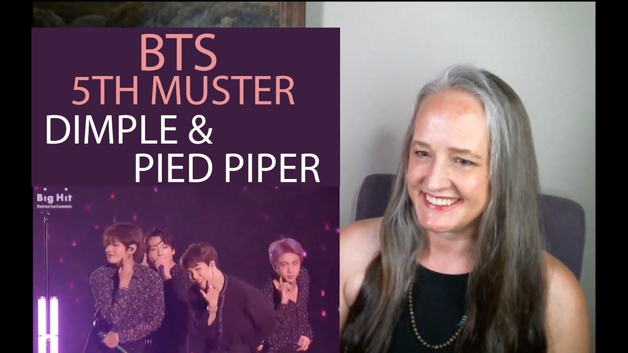 Voice Teacher Reacts to BTS Pied Piper + Dimple - 5th Muster