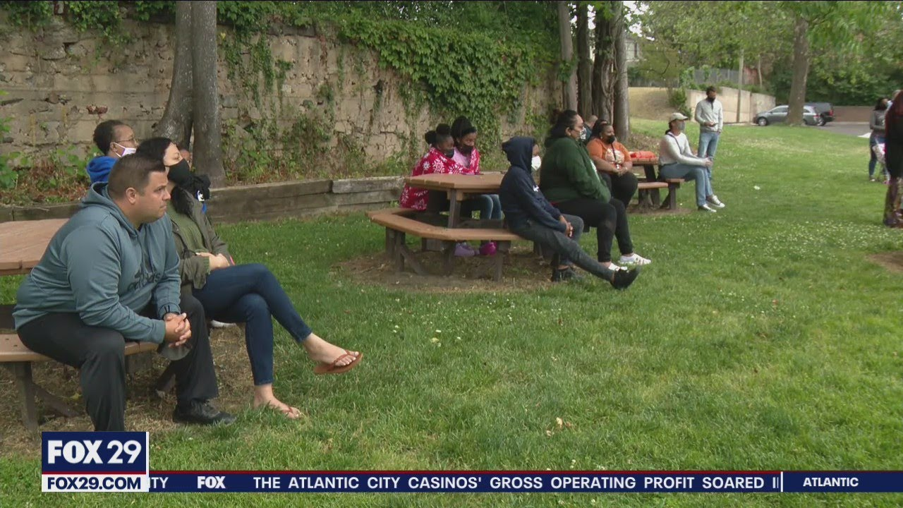 Download Community holds meeting following mass shooting in nearby Bridgeton