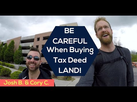 "Be Careful When Buying LAND! (And Our Ninja ""end of tax sale"" Trick)"