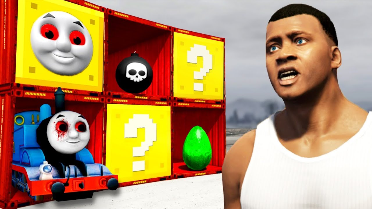 Download GTA 5 - Was ist in der THOMAS.EXE MYSTERY BOX drin?😱