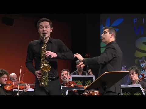 Andorra SaxFest 2019  - Valentin KOVALEV - Rhapsodie by Claude DEBUSSY (Arr.  V.David for strings)