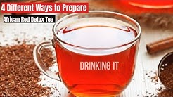 Red Tea Detox Recipes to Lose Weight Fast - Weight Loss Recipes